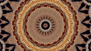 Kaleidoscope hypnotic stock video footage