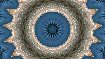 Mandala meditation abstract background video
