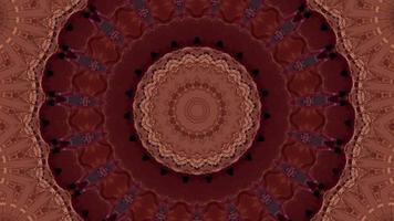 fond de kaléidoscope abstrait futuriste video
