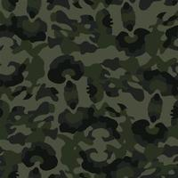 modern camouflage army color design seamless pattern vector