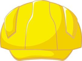 Isolated yellow safety helmet vector