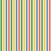 Rainbow geometric pattern stripes Seamless background for kids vector