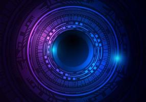 Sci fi Technology Digital Network art background.futuristic concept, vector