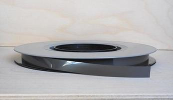 carrete de cinta magnética para almacenamiento de datos foto