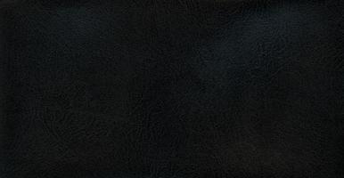 fondo de textura de cuero sintético negro foto