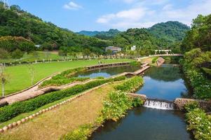 Cihu, aka Kindness Lake, at Daxi district in Taoyuan city, Taiwan photo