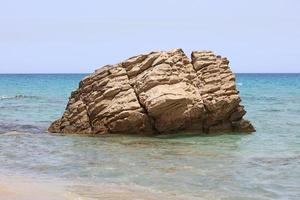 xerokampos playa isla de creta covid-19 vacaciones impresiones de alta calidad foto