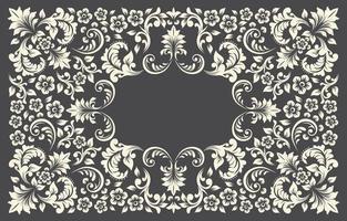 Flower Vintage Background vector