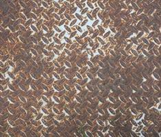 Fondo de textura de acero oxidado marrón foto