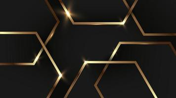 black background for interior wallpaper design vector