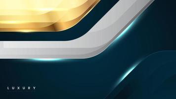 Fondo de superficie metálica de tecnología abstracta con azul oscuro vector
