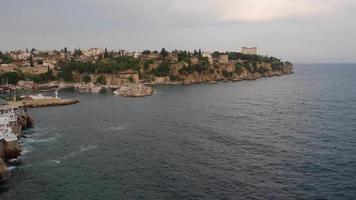 Landscape of The Antalya Kaleici From Hill video