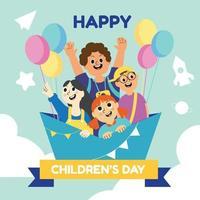 Happy Children's Day vector