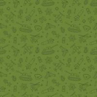 Seamless pattern for Defender of the Fatherland Day 23 february vector