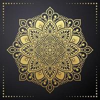 floral mandala art vector design