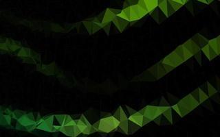 Light Green vector blurry triangle template.
