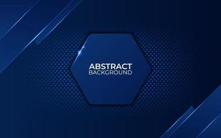 Abstract blue background with gradient color. vector