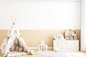 maqueta de habitación de niños - 809 foto
