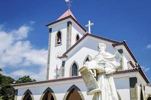 exterior de la iglesia católica portuguesa foto