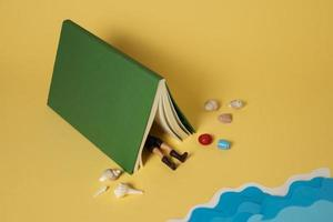 The books imagination still life photo
