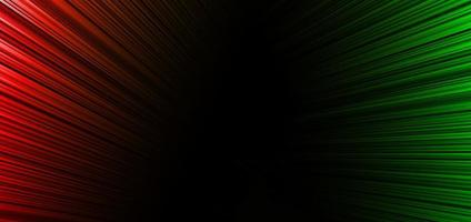 Abstract red and green stripe diagonal lines light background. vector