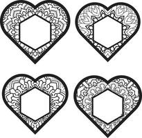 Vector Love Elements heart icon sign Free Vector