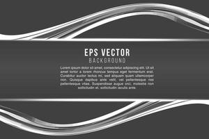 Abstract monochrome text background modern style with glow shine vector