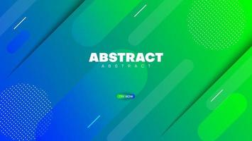 blue green gradient background with halftone vector