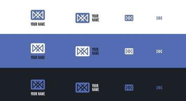 abstract creative logo concept vector