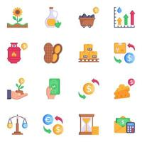 Commodities Design Pack vector