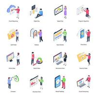Seo and Marketing vector