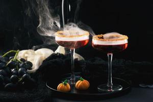 The Halloween party food arrangement photo