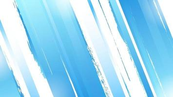 Abstract Gradient Blue Dynamic Stripe Grunge Banner Template vector