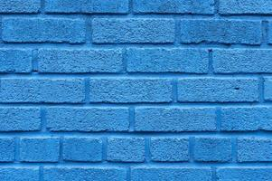 Blue brick wall background. Resolution and high quality beautiful photo