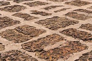 suelo de piedra ted foto