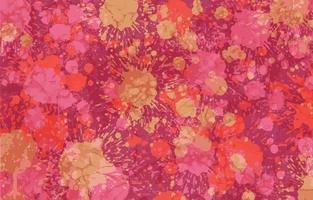 plantilla de fondo de pintura salpicada rosa vector