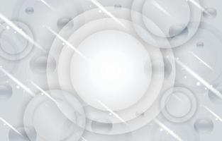 White Circle Background Template vector