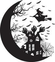 fiesta de diseño de halloween vector