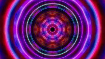 effetto colorato dell'onda di energia oscura video