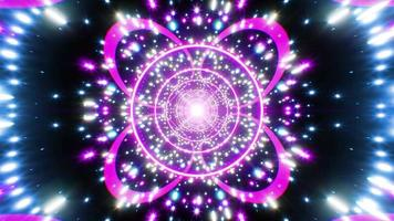 lyx ljus festlig glittrande tunnel video