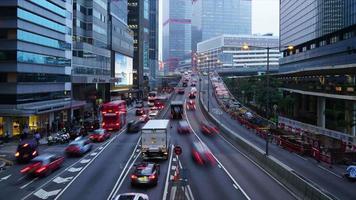 timelapse Hong Kong City video