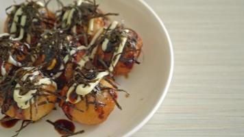 Takoyaki Ball or Octopus balls - Japanese food style video