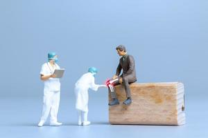 Doctors treat rheumatism, osteoarthritis , World arthritis day concept photo