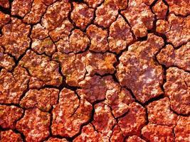 textura tierra roja foto