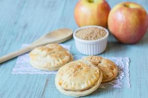 Red Apples and Hand Pies with Raw Sugar photo