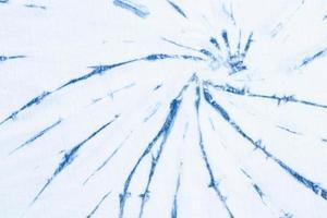 diseño del remolino del teñido anudado azul brillante. foto