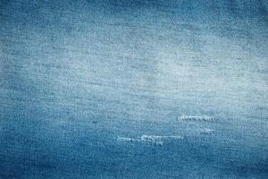 la textura del grunge estilo blue jeans foto