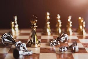 Chess board games for the last stand winner photo