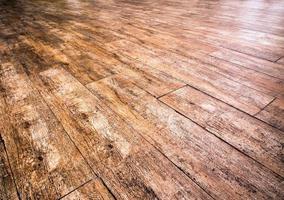 Texture on surface of wooden floor photo