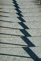 Shadow Play on Steps photo